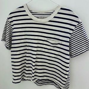 Madewell striped t shirt